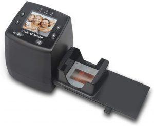 DIGITNOW! Scanner de Diapositives et Négatifs 35 mm,Convertisseur de Film à Images Numériques 5MP/10MP JPEG avec 2,4'' Écran