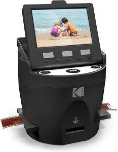 Kodak Digital Film Scanner, Converts 35mm, 126, 110, Super 8 and 8mm Film
