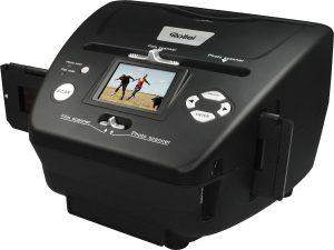 Rollei PDF-S 240 SE - Scanner 5.1 méga pixels pour diapos, négatifs et photos, incl. logiciel de retouche photo - Noir