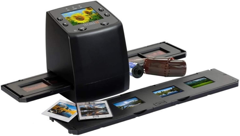 Technaxx DigiScan DS-02 Film Négatif/Diapositive pour Scanner 6.1cm USB 2.0 Noir