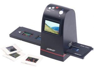 Comment scanner une diapositive?